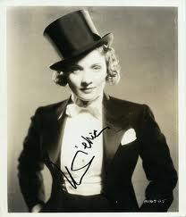 el análisis grafológico de Marlene Dietrich es líder