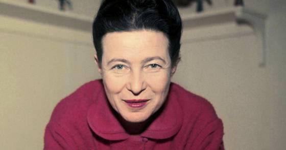 el análisis grafológico de Simone de Beauvoir es veloz
