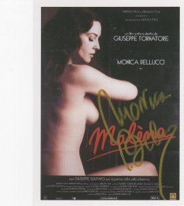 Ela análisis grafológico de Mónica Bellucci es publicitario