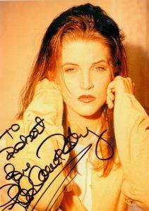 el análisis grafológico de Lisa Marie Presley es prepotente
