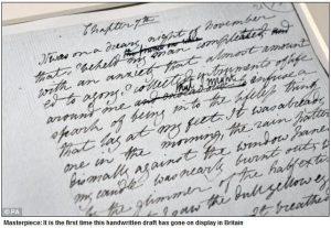 El análisis grafológico de Mary Shelley es descuidado