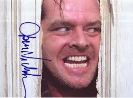 el análisis grafológico de Jack Nicholson es desconcertante