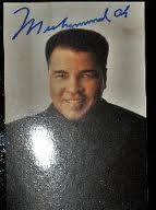 El análisis grafológico de Muhammad Ali es directo