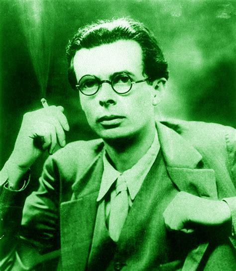 el análisis grafológico de Aldous Huxley es profético.