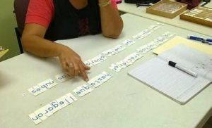 Grafología. La alfabetización de adultos es posible.