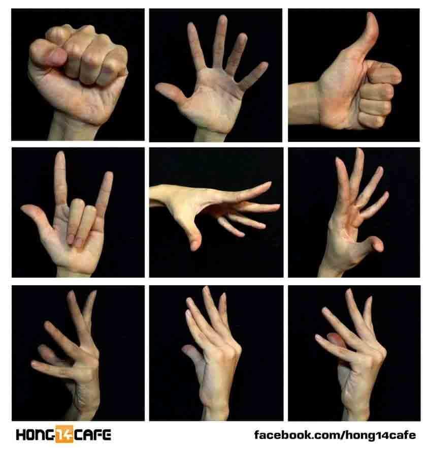 En grafologia las manos se explican.