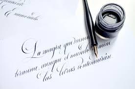 La importancia de la caligrafía es claridad.