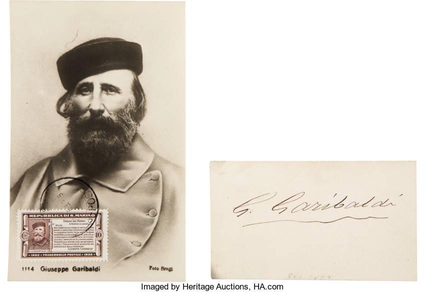 El análisis grafológico de Garibaldi es intrépido.
