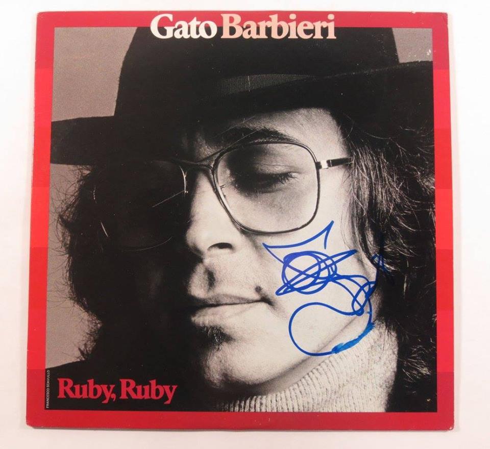 El análisis grafológico de Gato Barbieri es sensacional.