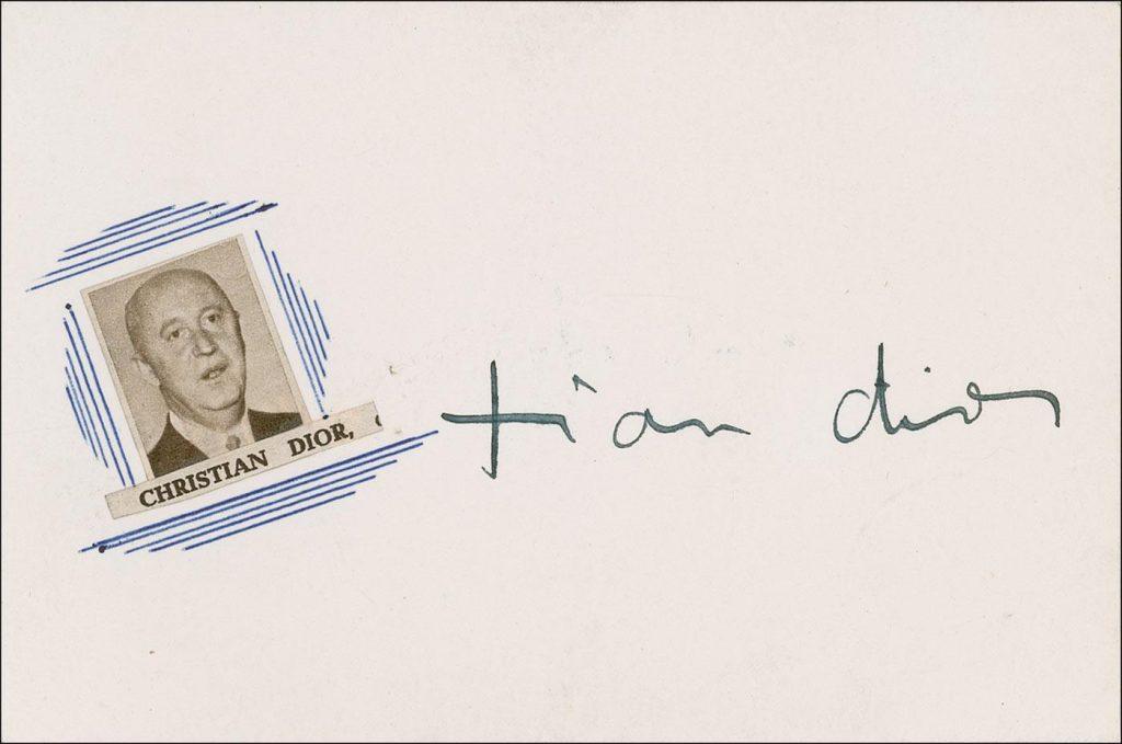 El análisis grafológico de Christian Dior es poco coherente.