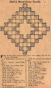 La importancia de los crucigramas se conoce.