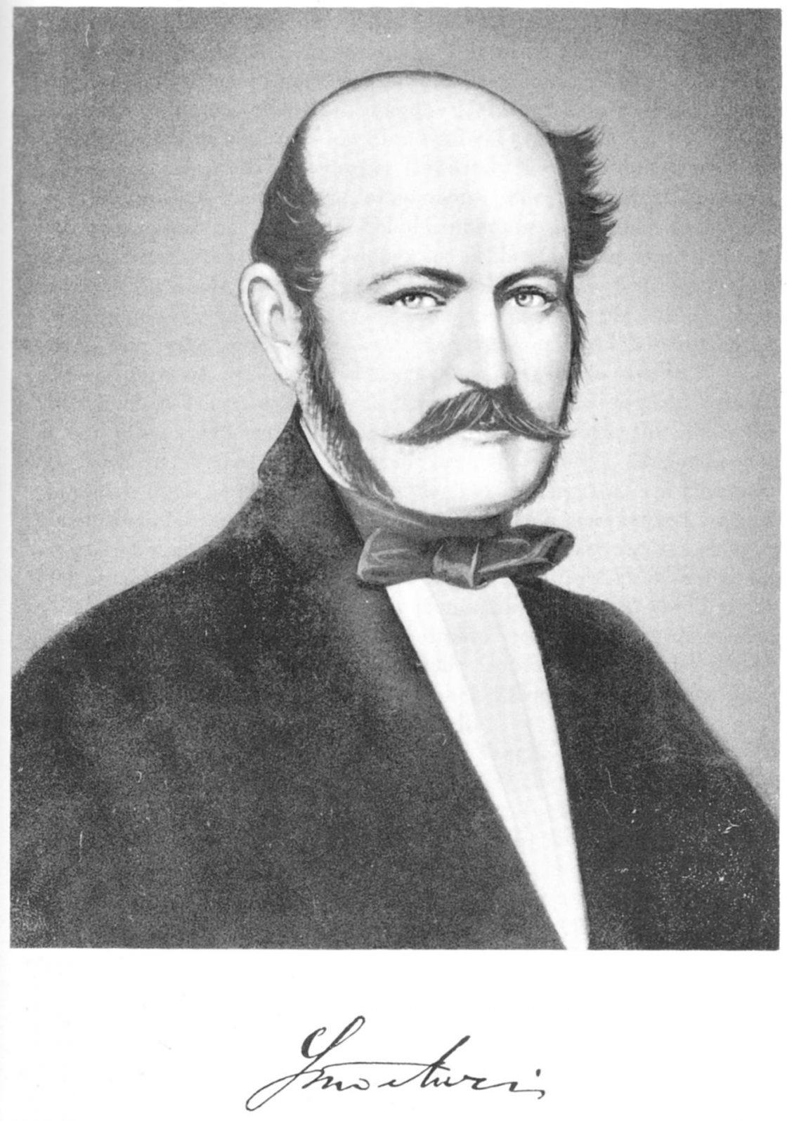 El análisis grafológico de Ignaz Semmelweis es decidido.