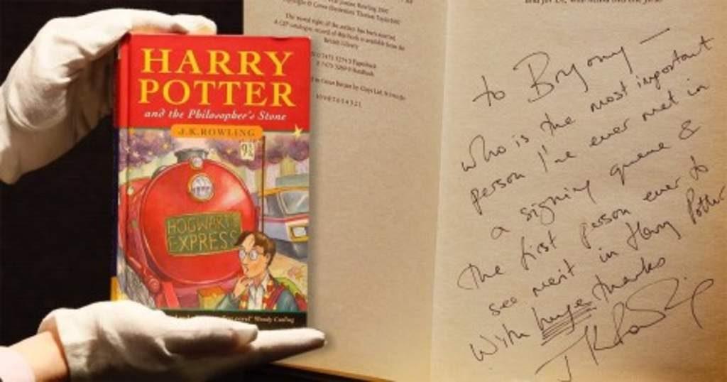 El análisis grafológico de J.K Rowling es mágico.