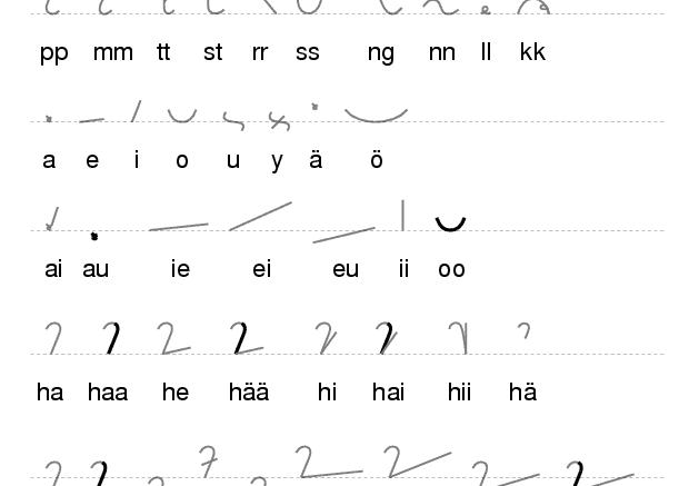 Breve historia de la taquigrafía simplificada.