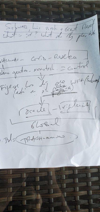 El análisis grafológico de Daniel Estulin estresa.
